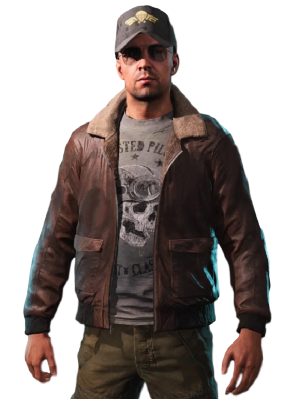 Game Far Cry 5 Aviator Leather Jacket