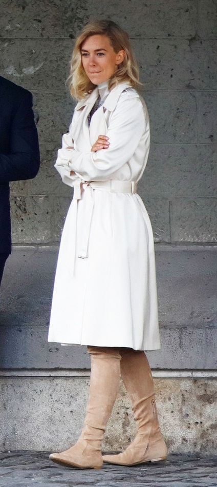 Mission Impossible Vanessa Kirby Cotton Trench Coat,