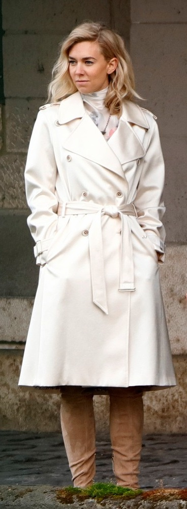 Mission Impossible Vanessa Kirby Trench Coat,