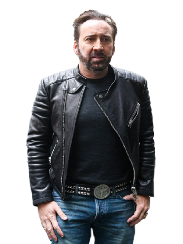 Nicolas Cage Stylish Outfit Jacket