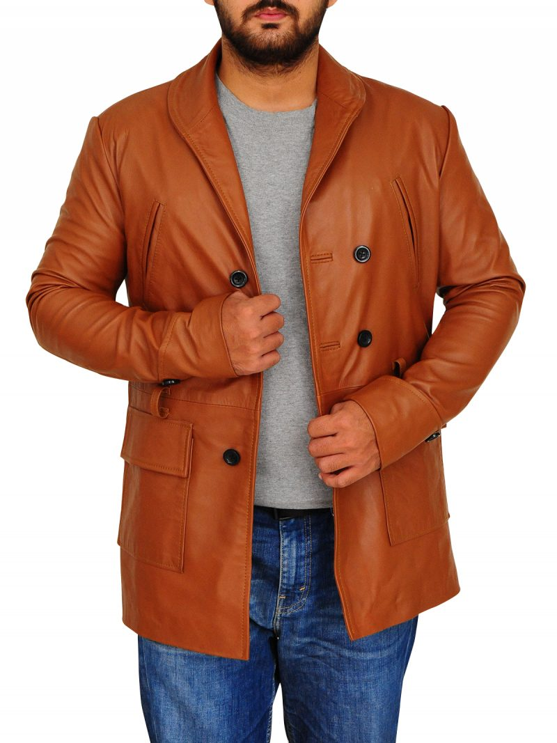 Brad Pitt Legends of the Fall Tristan Leather Coat,