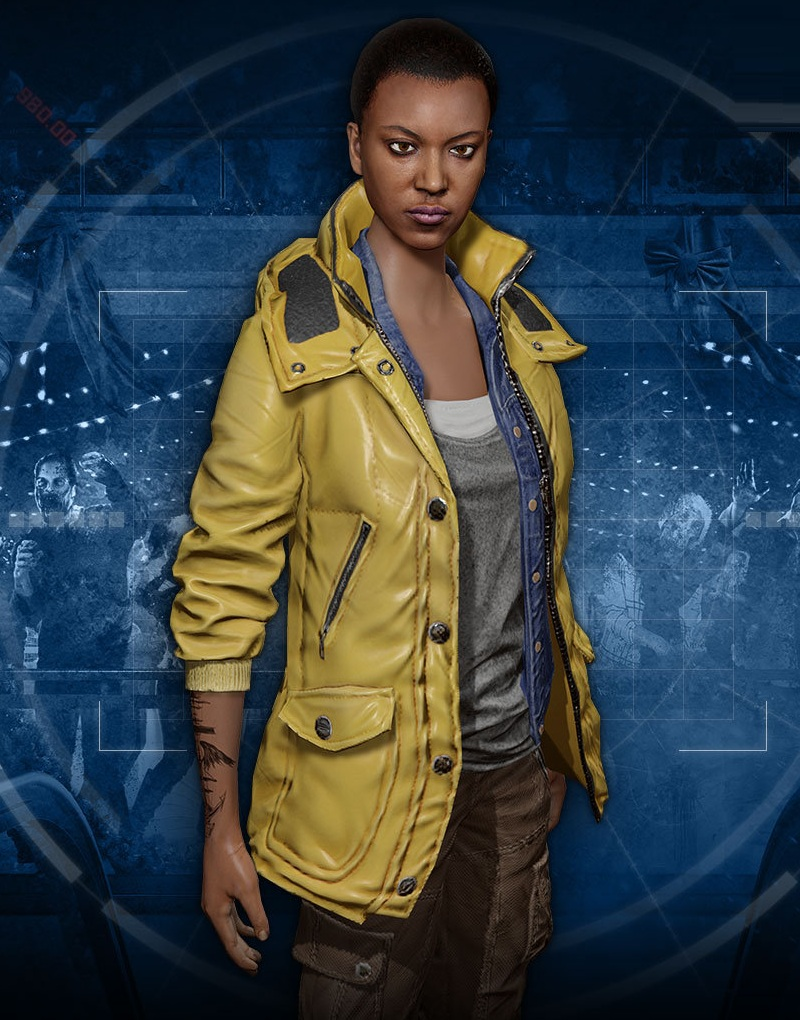 Video Game Series Dead Rising Kylie Jane Hammond Jacket