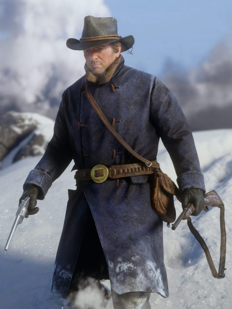 Red Dead Redemption 2 Game Arthur Morgan Coat,