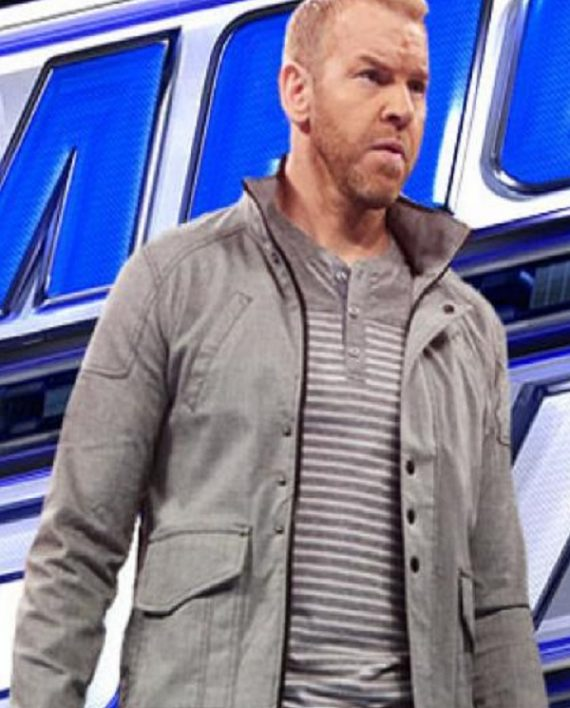 Wrestler Christian Cage William Jason Reso Jacket