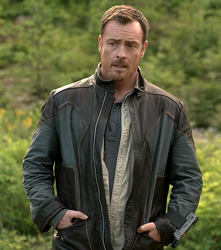 Lost in Space John Robinson Toby Stephens Jacket