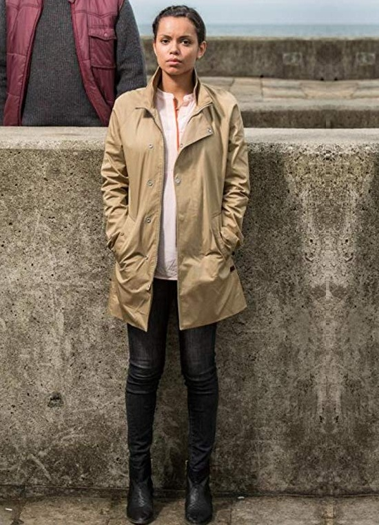 Georgina Campbell Brown Coat