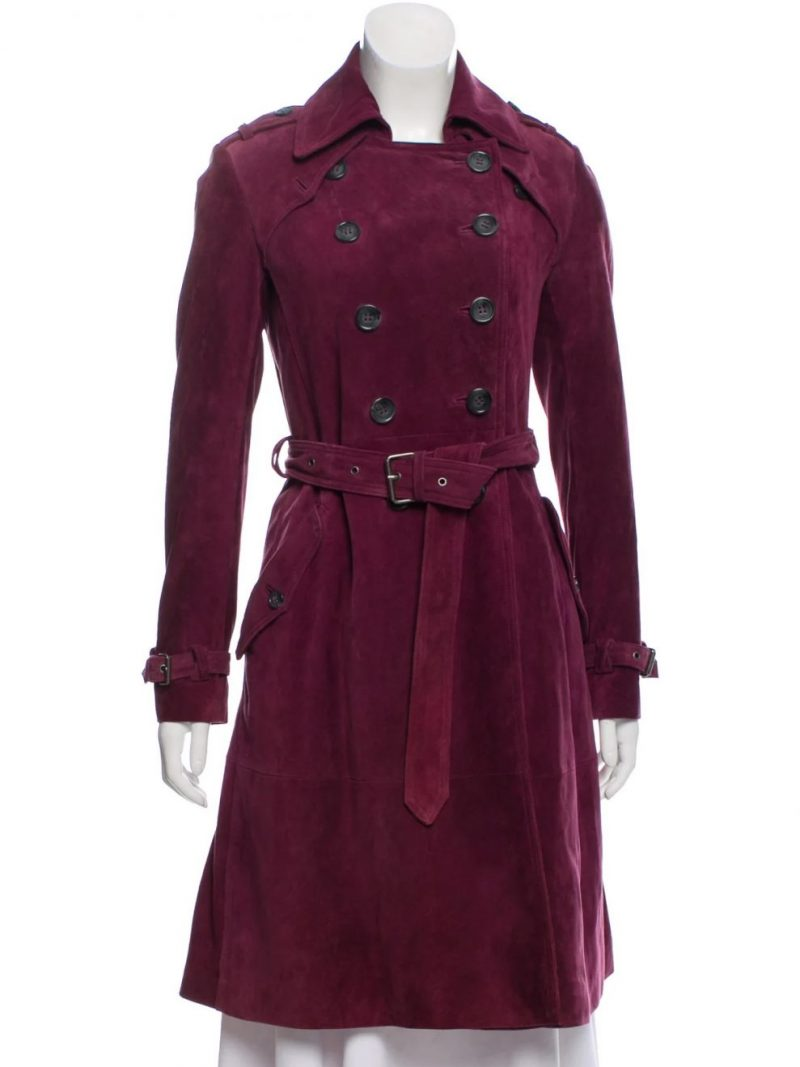Modern-Family-TV-Series-Sofia-Vergara-Maroon-Coat,