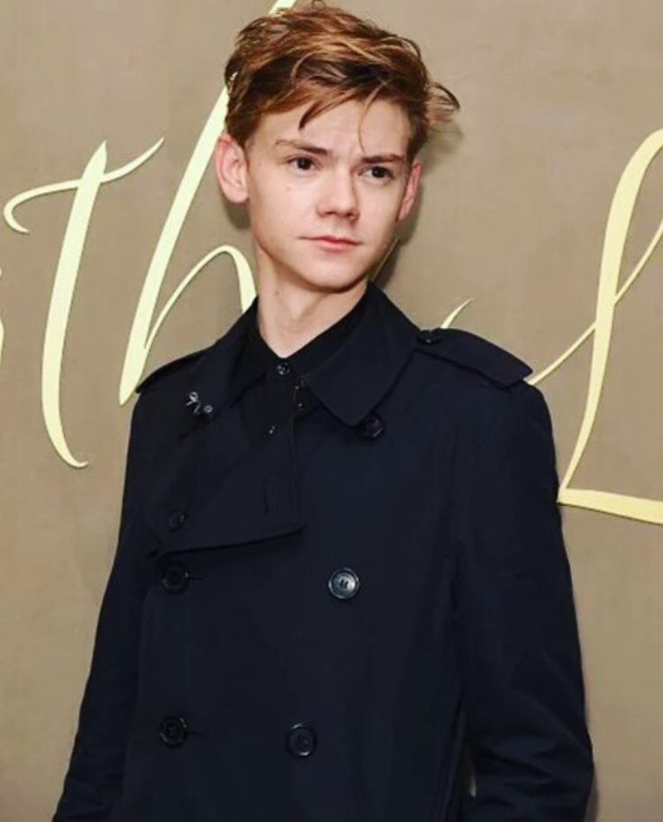 Thomas Brodie Sangster Trench Coat