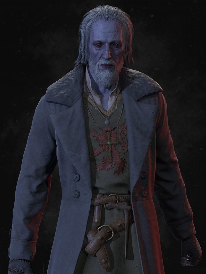 Vampyr Game William Marshal Coat