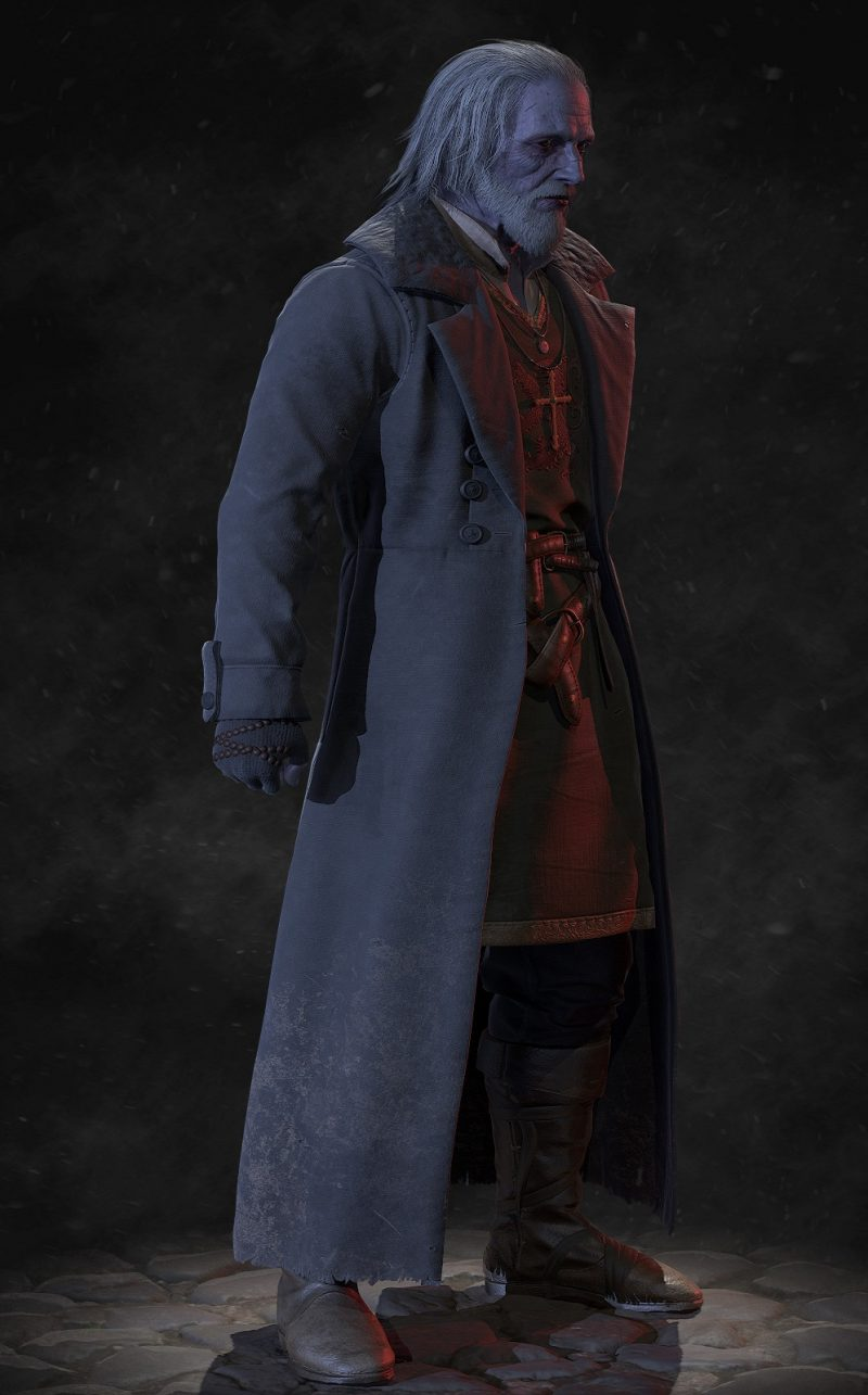 Video Game VAMPYR William Marshal Coat
