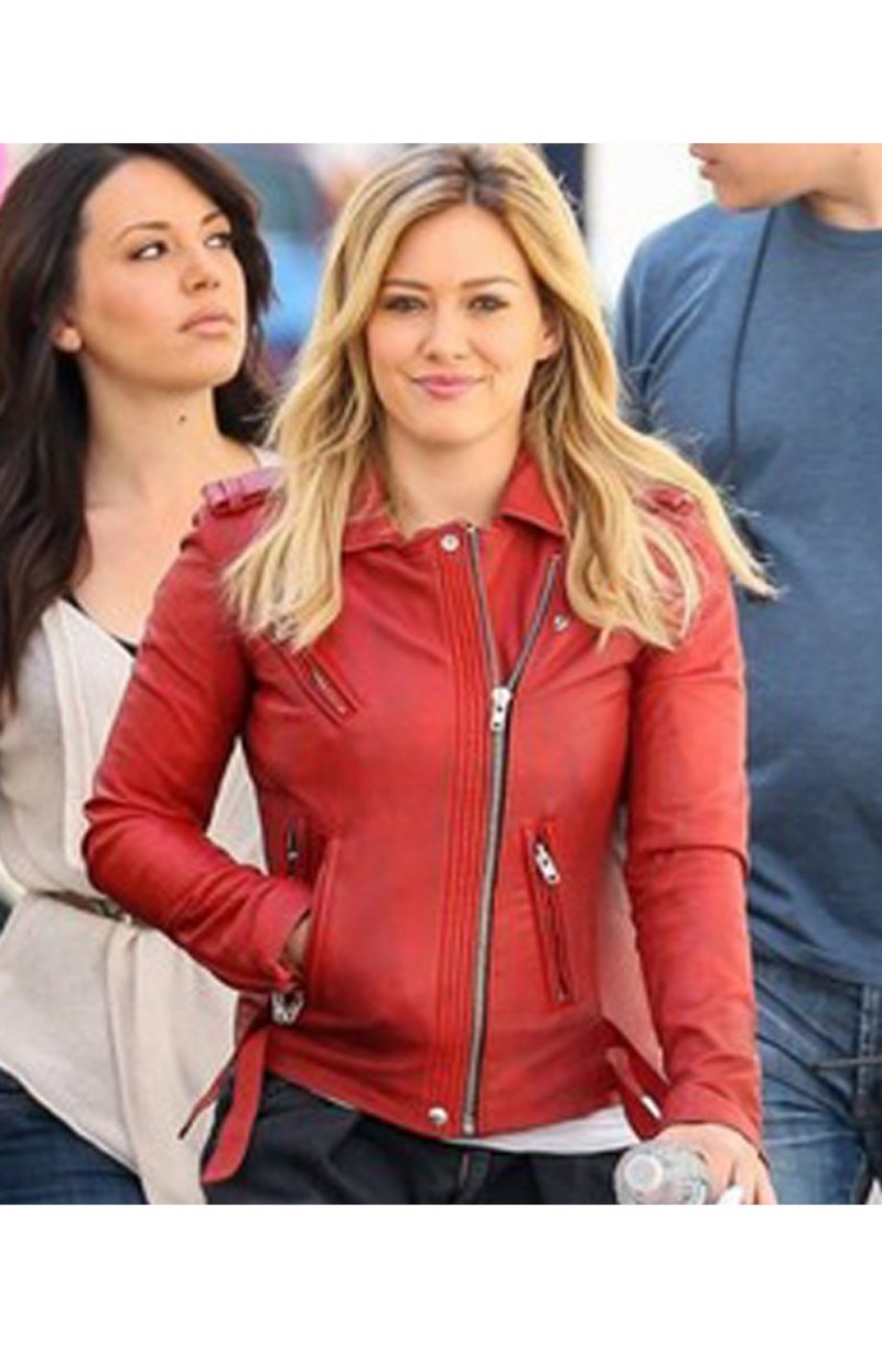 Younger Series Kelsey Peters Hilary Duff Leather Jacket