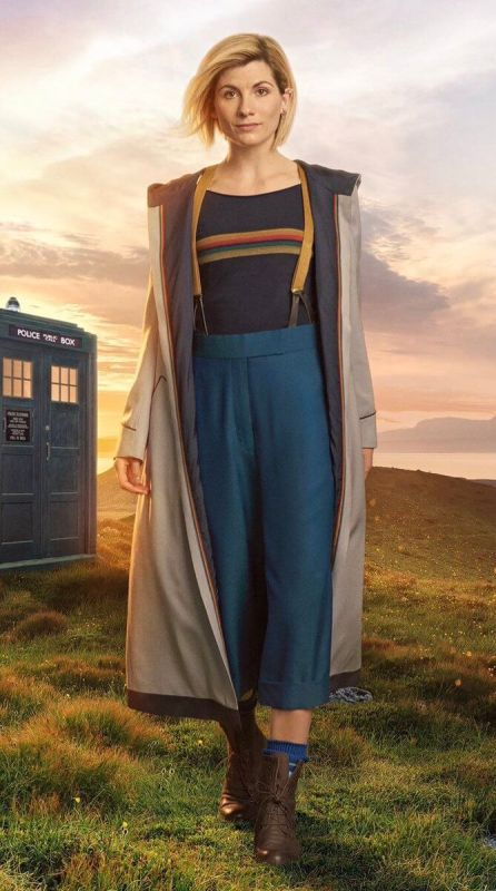 The Doctor Who Jodie Whittaker Stylish Coat