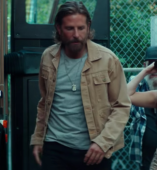 Bradley Cooper Jack A Star Is Born Khaki jacket