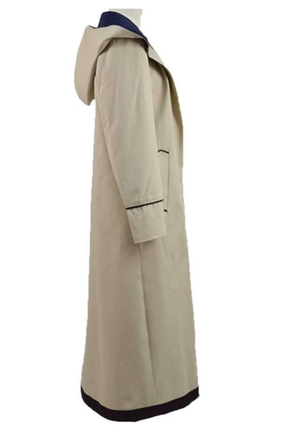 The Doctor Who Series Jodie Whittaker Cotton Coat