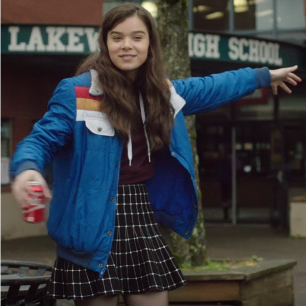 The Edge of Seventeen Hailee Steinfeld Nadine Jacket