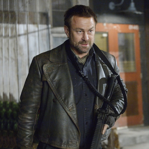 Defiance Series Grant Bowler Joshua Nolan leather Jacket
