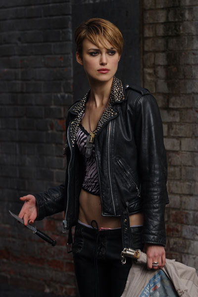 Domino Harvey Keira Knightley Leather Jacket