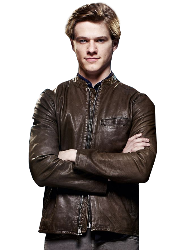 MacGyver, MacGyver TV Series, Lucas Till Leather Jacket,