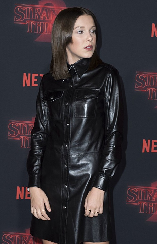 TV Series Stranger Things Millie Bobby Brown Eleven Outfit