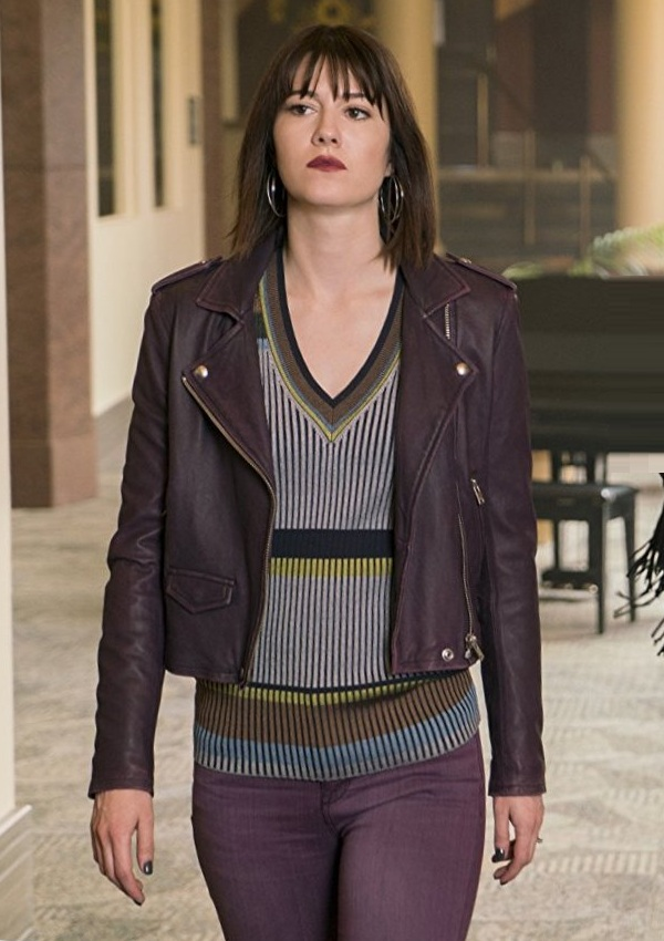 Fargo Nikki Swango Mary Elizabeth Winstead Leather Jacket