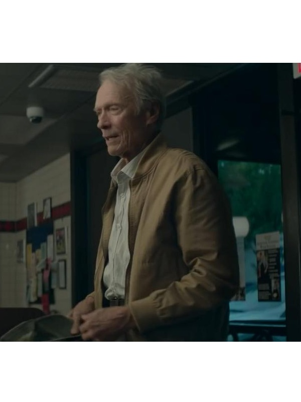 Movie The Mule Earl Stone Clint Eastwood Cotton Jacket (1)