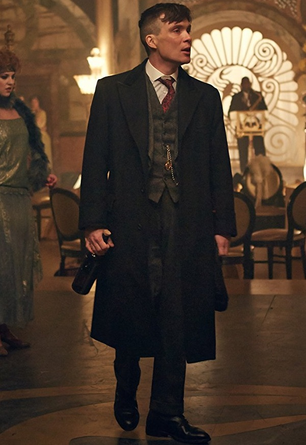 TV Series Peaky Blinders Arthur Shelby Paul Anderson Coat