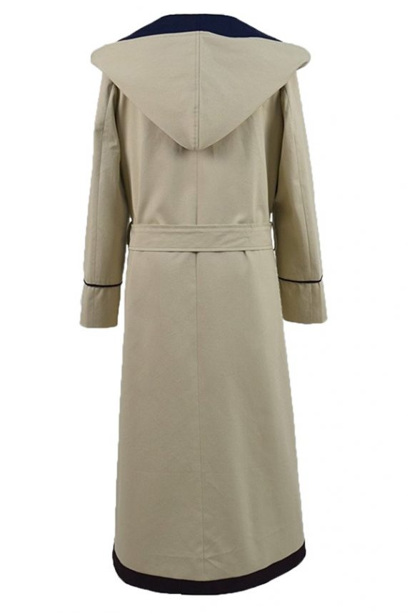 The Doctor Who Series Jodie Whittaker Hooded Coat