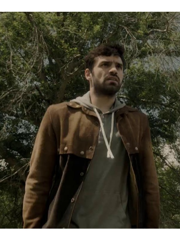 The Gifted Eclipse Sean Teale Suede Leather Jacket