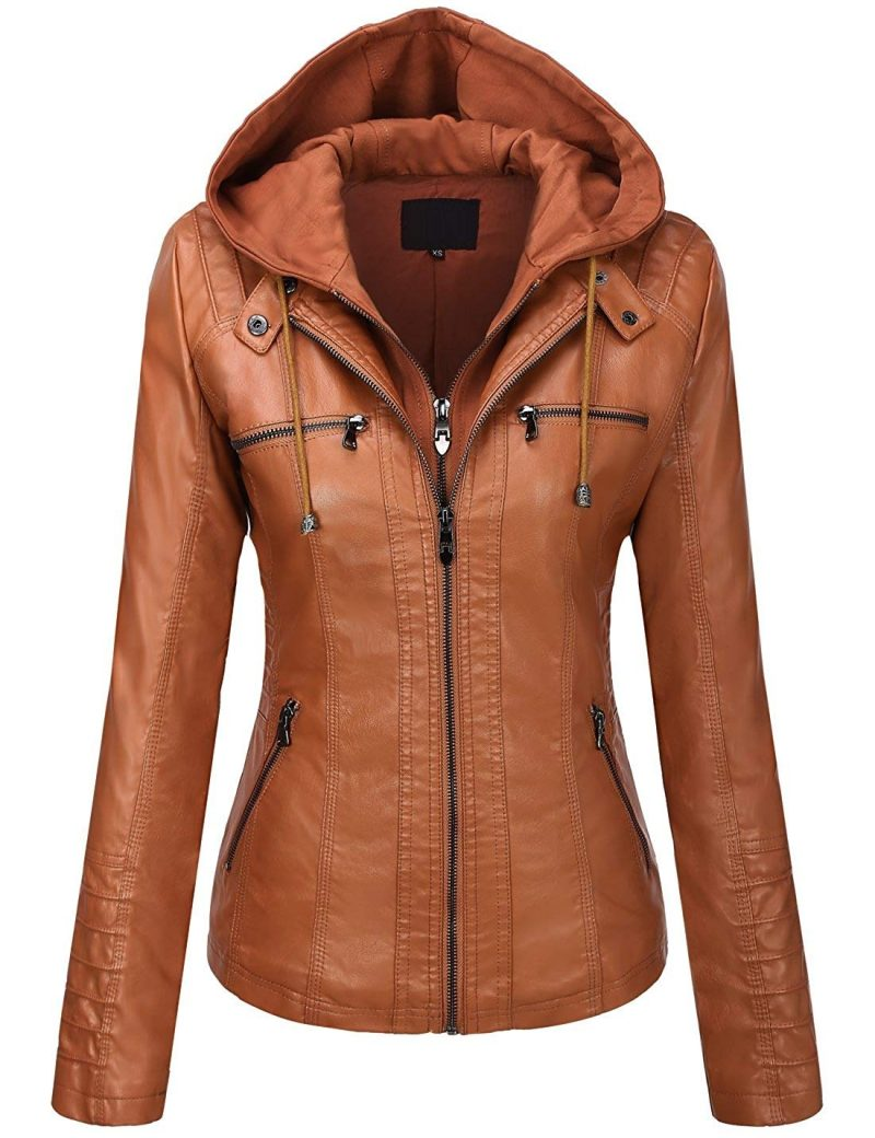 Women's Removable Hooded Jacket
