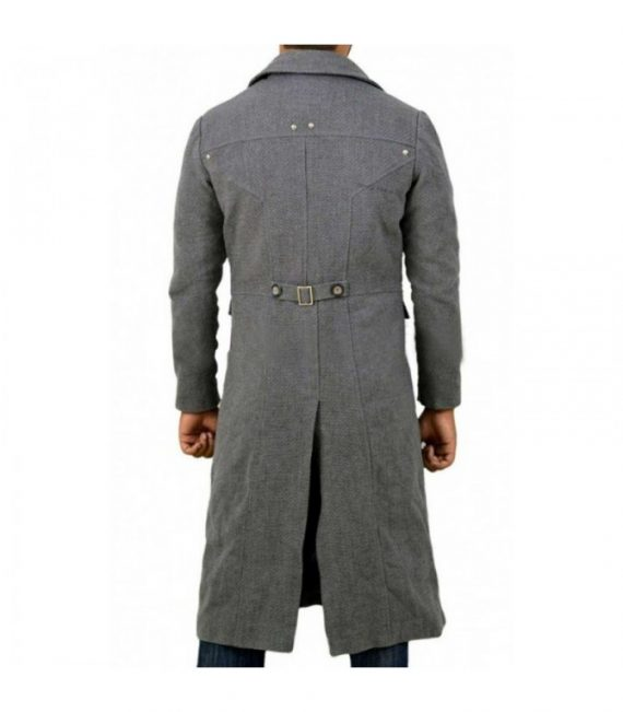 Action Game Bloodborne Hunter Long Trench Coat