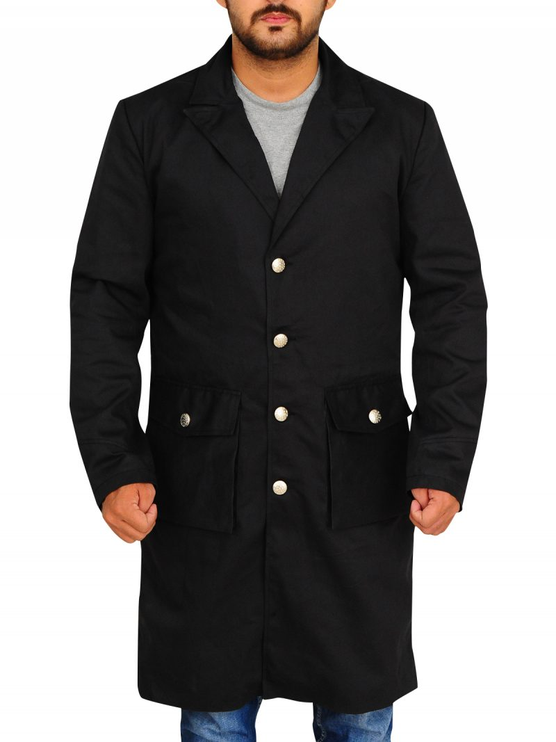 Anson Mount Coat, Hell on Wheels TV Series Coat,