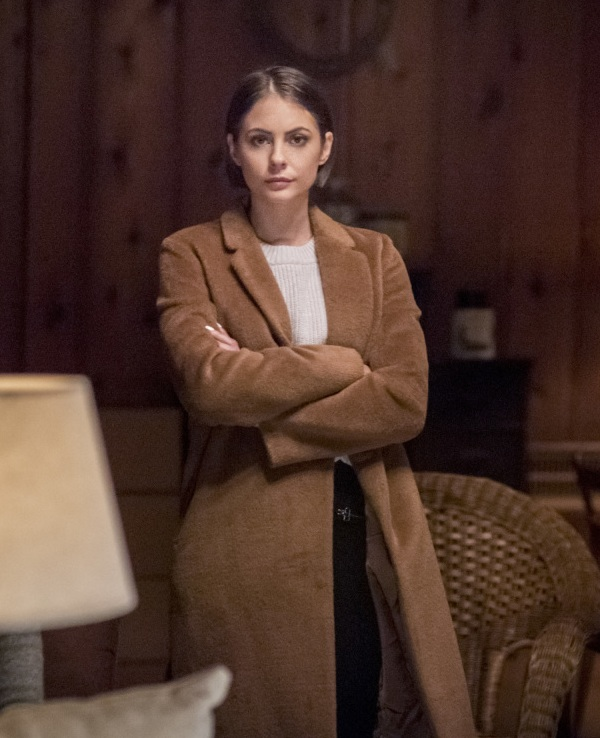 TV Series Arrow Thea Queen Brown Wool Coat