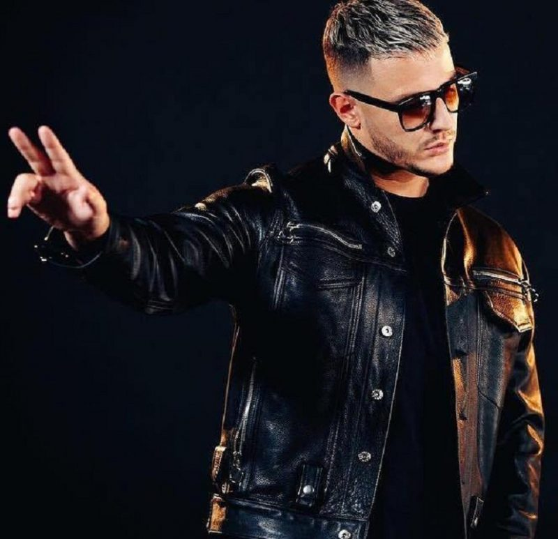 William Sami Étienne DJ Snake Black Jacket