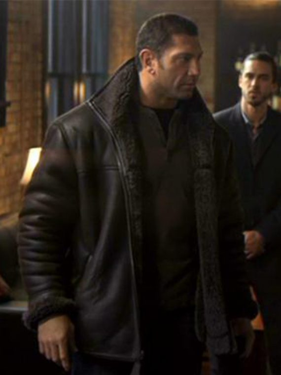 2011 Movie House of the Rising Sun Ray Dave Bautista Jacket