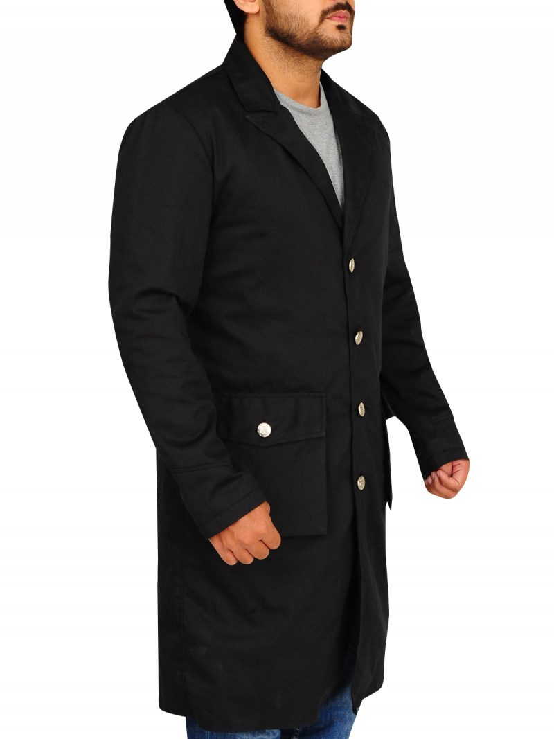 Hell on Wheels, TV Series Black Coat, Anson Mount Coat,