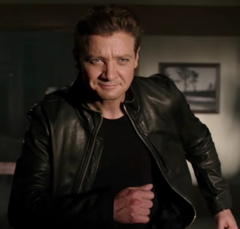 Jeremy Renner Tag leather Jacket