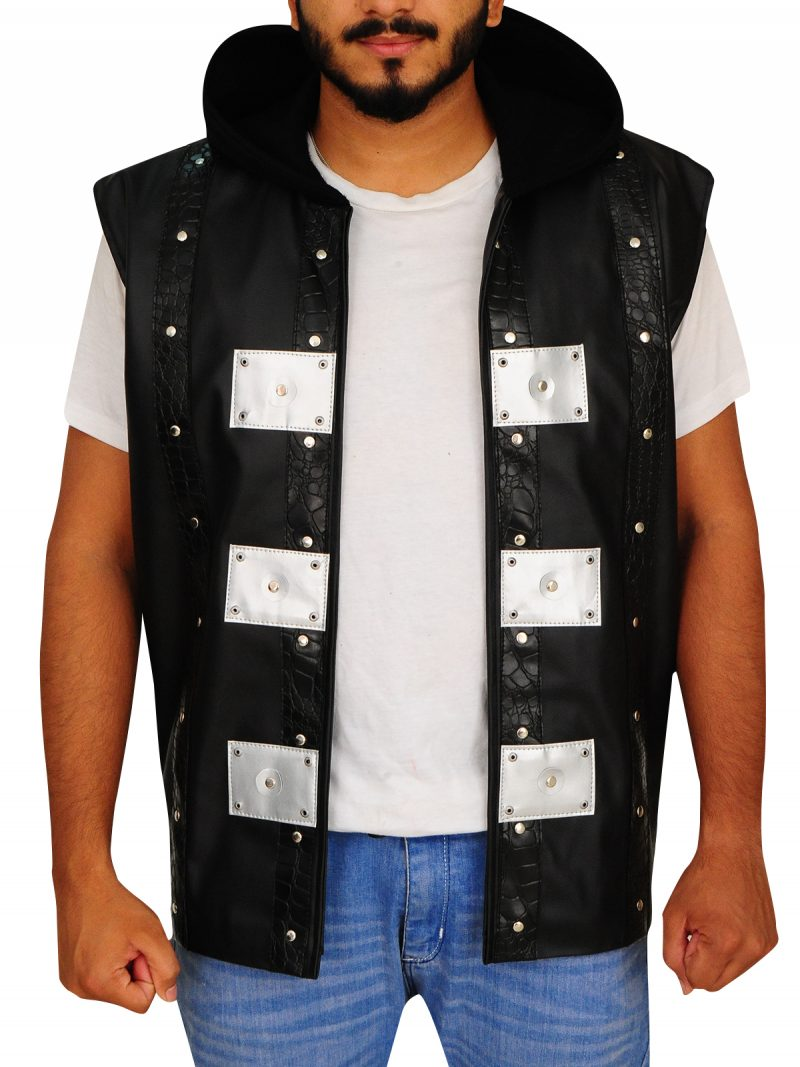 Jones Allen, Hoodie Vest, Fashion Vest,
