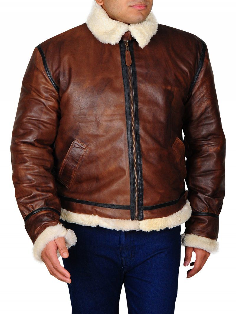 Men B3 Aviator Flying Jacket, B3 Aviator Flying Jacket, Bomber Jacket,