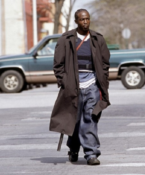 Get Crime Series  The Wire Michael Kenneth Williams Leather Coat
