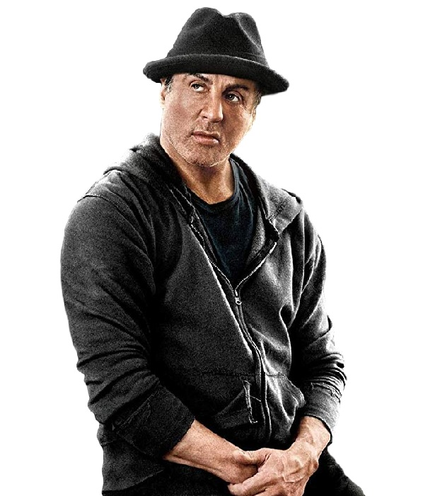 Film Creed Sylvester Stallone Fleece Hooded Jacket
