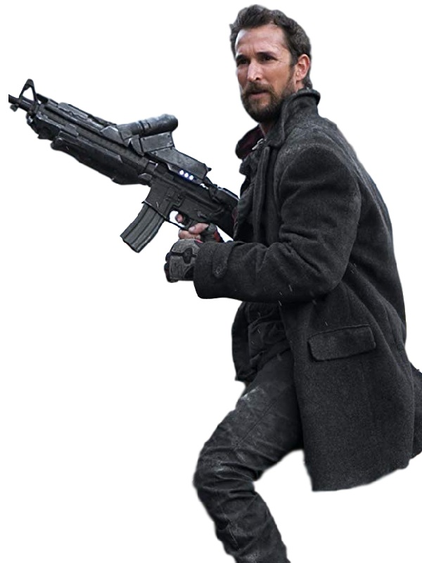 Falling Skies Series Tom Mason Noah Wyle Wool Coat