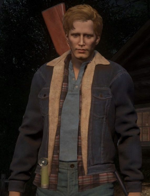 Tommy Jarvis Friday The 13th Denim Jacket
