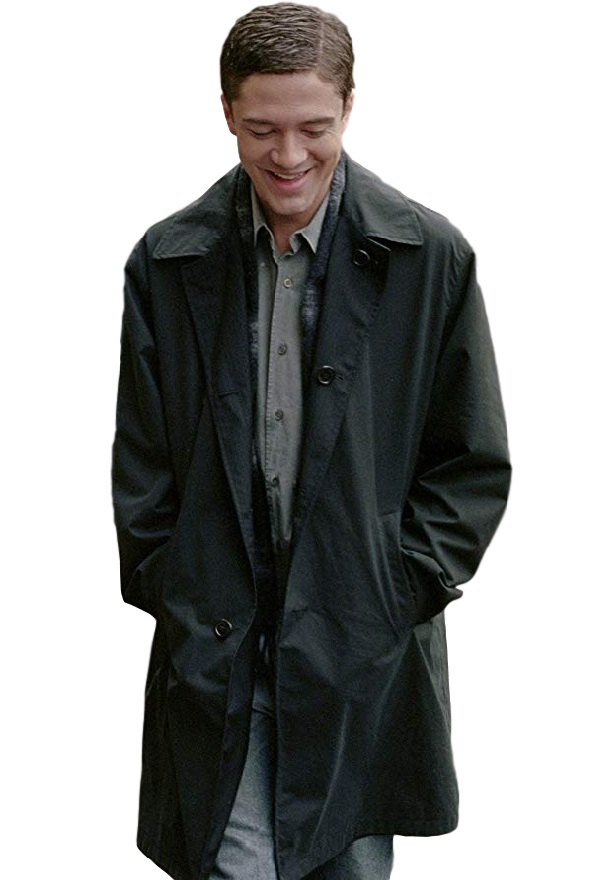 Topher Grace TV Series In Good Company Carter Black Coat