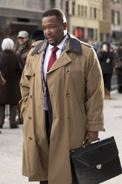 Harris Green The Michael J. Fox Show Wendell Pierce Coat