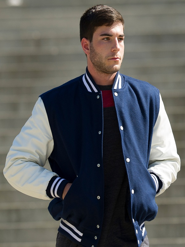 The Essential Varsity Style Classic Blue Jacket