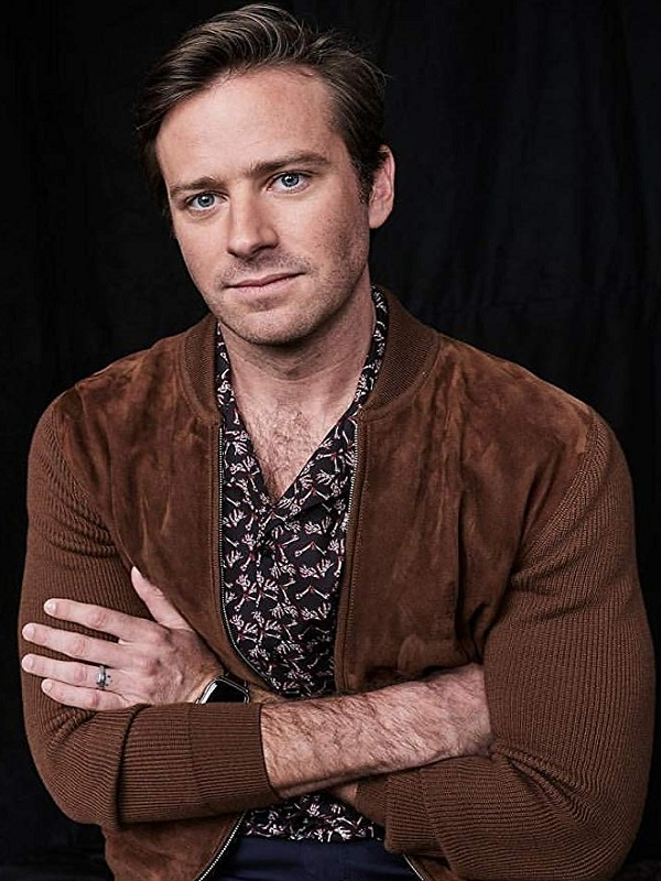On the Basis of Sex Martin Ginsburg Armie Hammer Brown Jacket