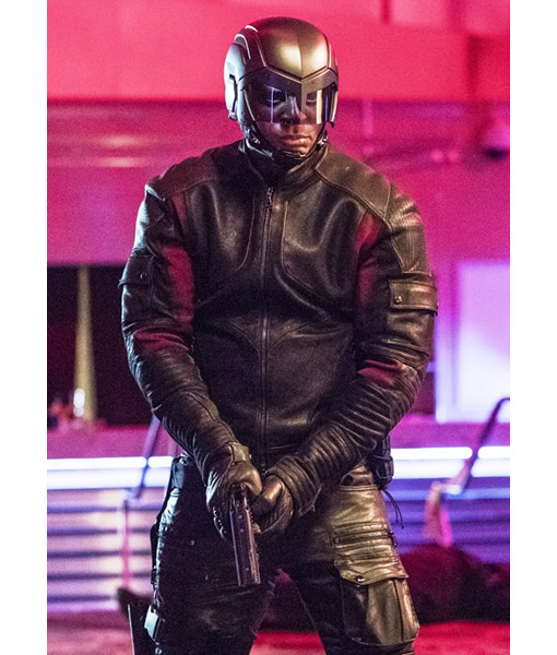 Arrow Series John Diggle David Ramsey leather Jacket
