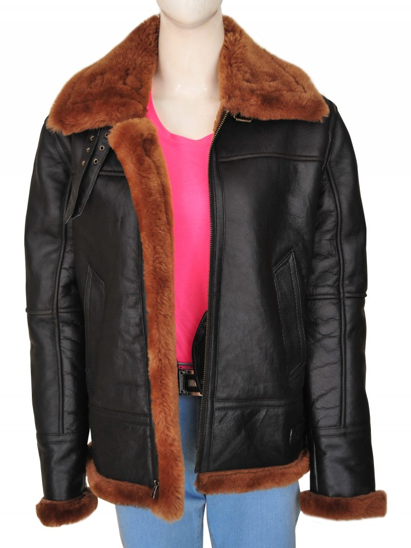 B3 Women Sheepskin Leather Jacket,