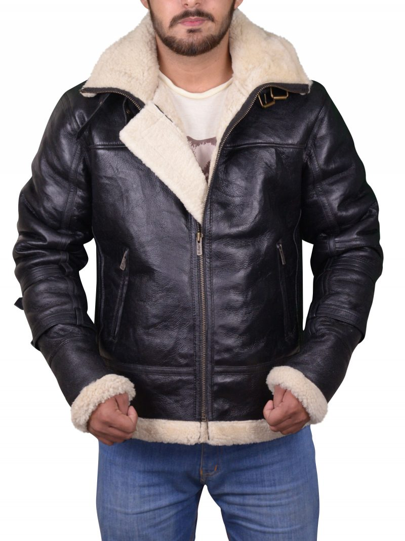 Bomber B3 Sheepskin Shearling Jacket,