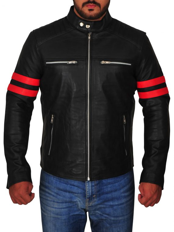 Cafe Racer Motorcycle Jacket,